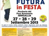 """""""Città Futura in festa"""" 2013, programma dettagliato"""