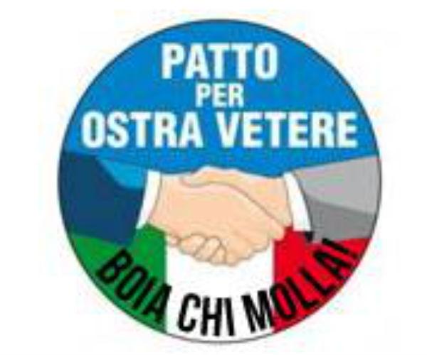 """""""Patto per Ostra Vetere"""", logo"""