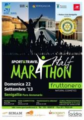 """Sport&Travel Half Marathon"" a Senigallia il 22 settembre 2013"