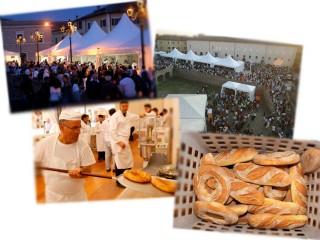 Alcune fotografie di Pane Nostrum a Senigallia: il pubblico, i forni a cielo aperto, i maestri panificatori
