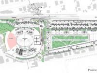 La planimetria della nuova Sacelit che sorgerà nell'area del porto di Senigallia