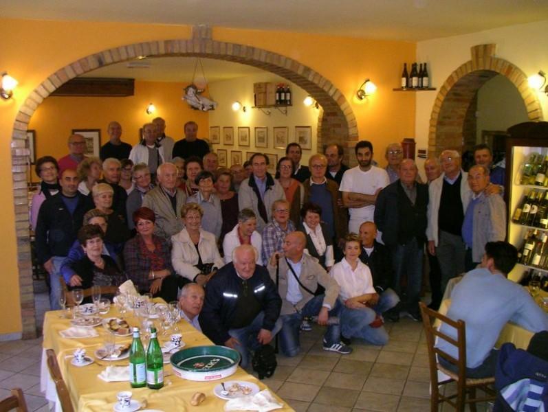 Incontro conviviale per i marmisti di Senigallia