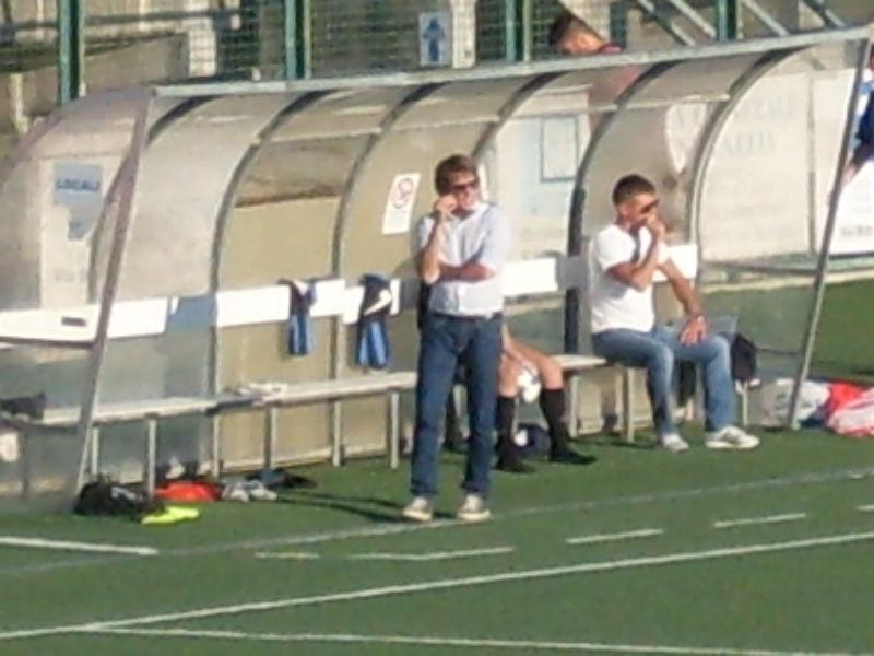 Stefano Goldoni sulla panchina del Miciulli Senigallia