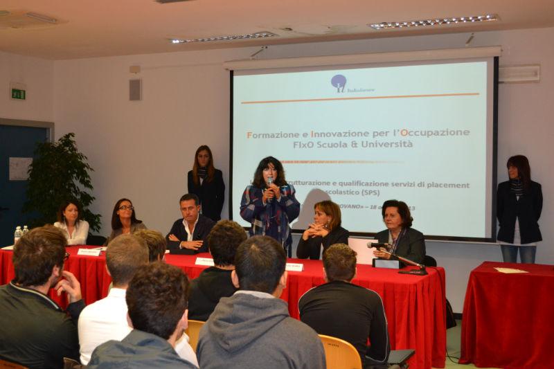 Presentazione del progetto Fixo alla scuola Padovano di Senigallia