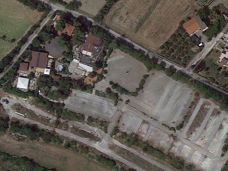 Veduta aerea dell'ex-discoteca Shalimar di Senigallia