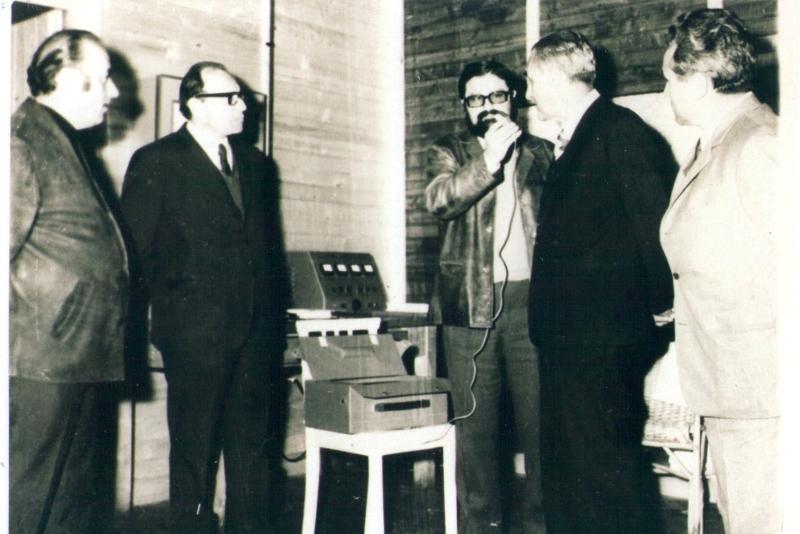 Enrico Medi intervistato nel 1961 da Ilario Taus