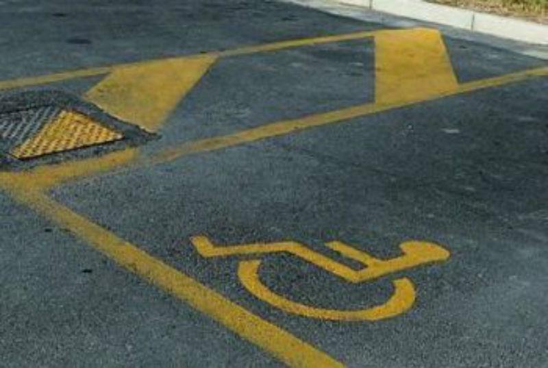 parcheggio nvalidi