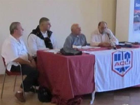 Incontro a palazzo del Duca, Senigallia, con don Renzo Lavatori, promosso dalle Acli