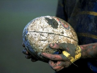 La palla ovale del rugby