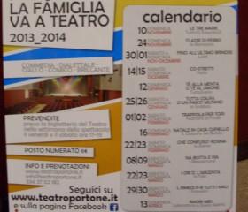 """""""La famiglia va a teatro"""", manifesto e programma"""