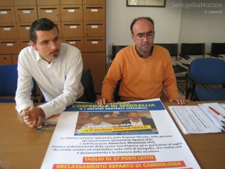 Alessandro Cicconi Massi e Gabriele Cameruccio (PdL) intervengono contro i tagli alla sanità pubblica locale
