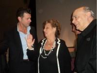 Maria Falcone col Sindaco Mangialardi e il Vescovo Orlandoni