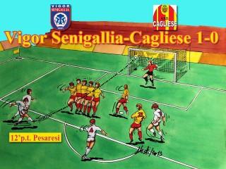 Il gol di Pesaresi contro la Cagliese visto da Massimo Nesti (www.nvart.it)