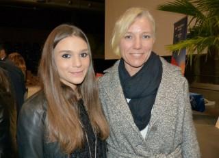 Linda Rossi con Josefa Idem