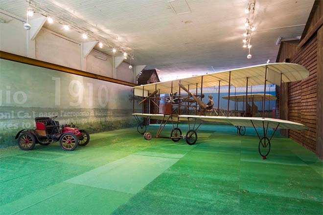 Il museo di Volandia, visitato dai soci ANSO