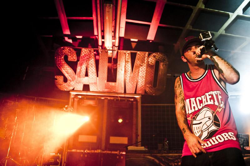 Il rapper Salmo al Mamamia di Senigallia