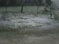La prima neve della stagione a Sant'Angelo