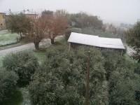La prima neve a Ripe