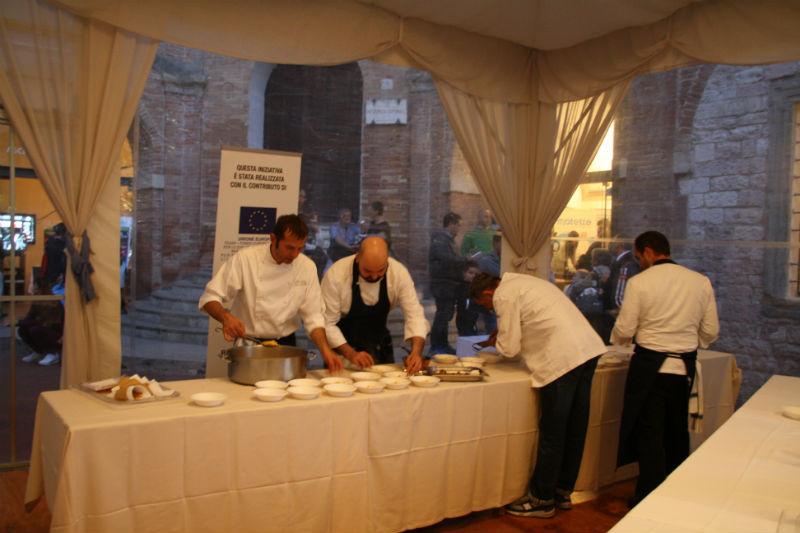 Lo Chef Mauro Uliassi a Gubbio