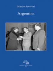"""""""Argentina"""" di Marco Severini, copertina libro"""