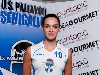 Elisa Zingaretti dell'Us Pallavolo Senigallia