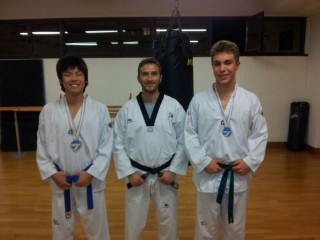 Stefano Zhao, Andrea Contardi e Alessandro Talmi