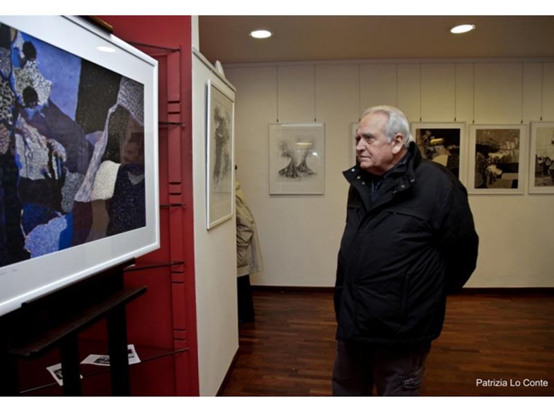 Carlo Emanuele Bugatti alla mostra di Aroldo Governatori