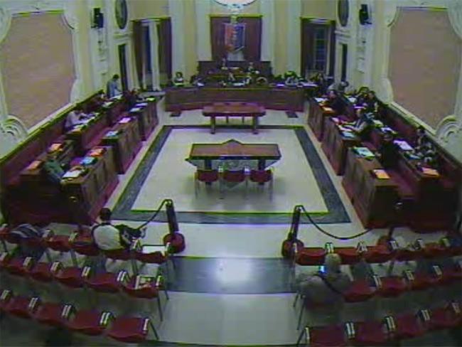 consiglio comunale a Senigallia di giovedì 21 novembre, aula consiliare