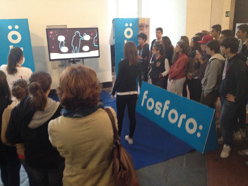 Esibizione e dimostrazioni al KINEXT by FOSFORO Senigallia al festival della scienza di Genova