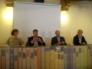 Ada Antonietti, Maurizio Mangialardi, Remo Morpurgo e Stefano Schiavoni