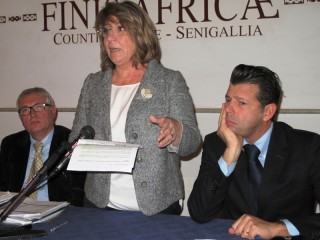 Da sx: Bitonto, Casagrande e Mangialardi al seminario sulla trasparenza nella Pubblica Amministrazione