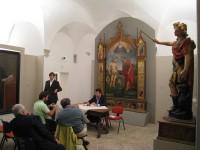"""Conferenza stampa finale per la mostra """"Sotto un'altra luce. Antologia di opere restaurate dal territorio"""""""