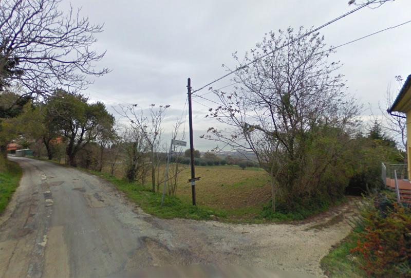 'Strada del Trocco' a Senigallia, che collega via Sant'Anna Trinità a via Mattei