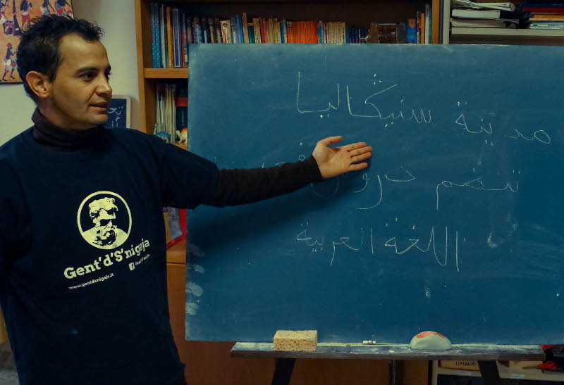 Mohamed Belbaji: maestro di arabo a Senigallia