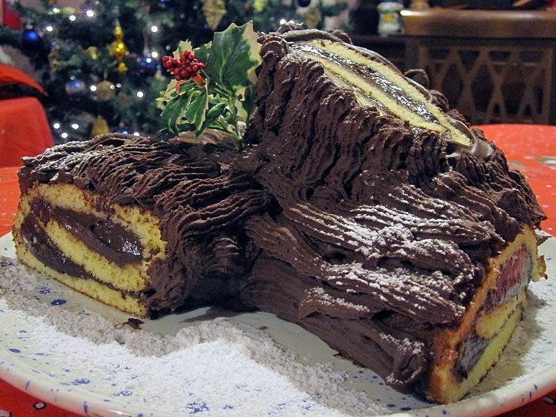 Tronchetto Di Natale Ricetta.La Ricetta Del Tronchetto Di Natale Per La Rubrica Di Cucina Di