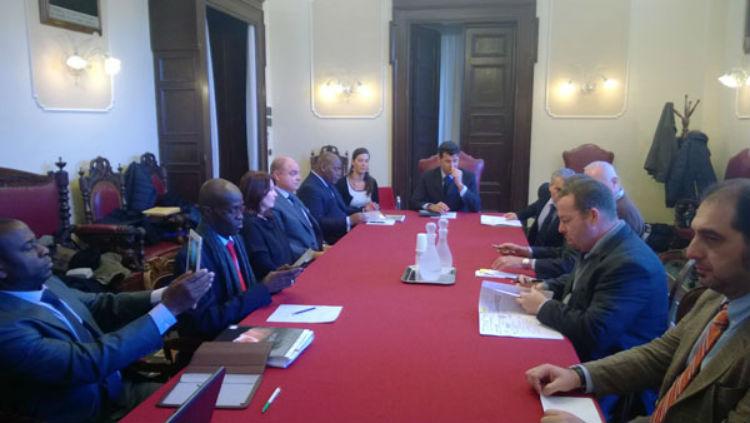 La delegazione di San Pedro ospite del Comune di Senigallia