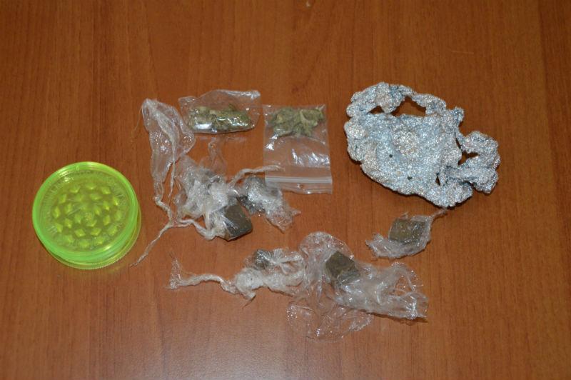 La droga sequestrata al Padovano
