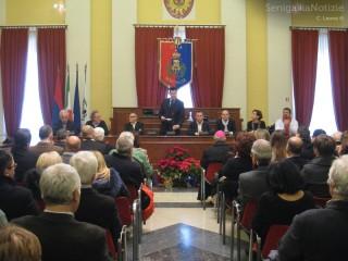 Discorso di fine anno (2013) del sindaco di Senigallia