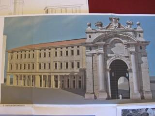 Il progetto dell'ex arena Italia