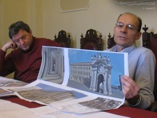 Ciacci e Ceresoni presentano il progetto dell'ex arena Italia