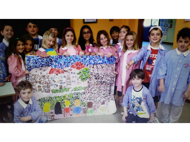 Gli alunni della classe 3B della scuola primaria Puccini di Senigallia