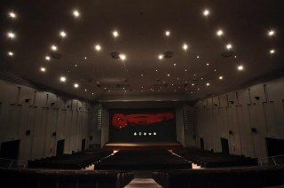 L'interno del teatro La Fenice di Senigallia