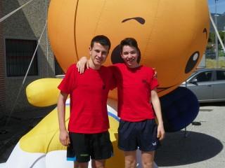 Due atleti dell'asd TT Spiaggia di Velluto a Terni per i nazionali del 30 novembre 2013