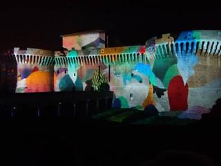 Show di visual mapping alla Rocca Roveresca - Foto di Gennaro Campanile
