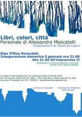 Mostra Libri, Colori, Città al Villino Romualdo di Trecastelli
