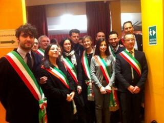 I sindaci della Valmisa all'assemblea ANCI del 29 gennaio a Roma