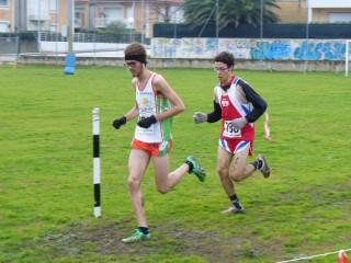 una fase della 2^ edizione corsa campestre Città Senigallia