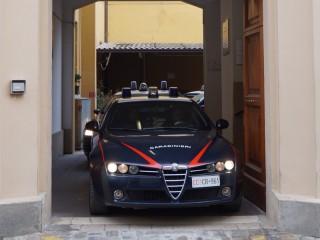 """Le """"gazzelle"""" in uscita dalla Caserma dei Carabinieri di Senigallia"""