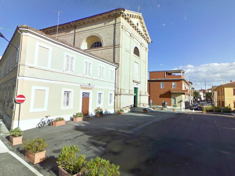 chiesa del Porto, a Senigallia