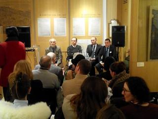 Presentazione a Venezia da parte dell'Associazione di Storia Contemporanea di un libro sui campi di concentramento nelle Marche